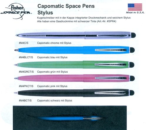 Fisher Spacepen M4x-Stylus
